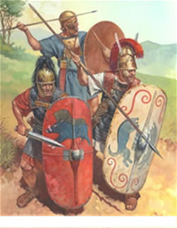 romeinen goden taken